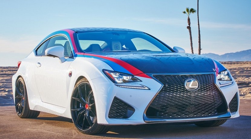 Lexus RC F Los Angeles Clippers