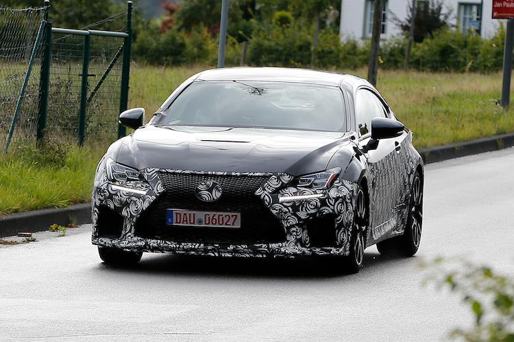 Lexus-RC F Sport [FOTO SPIA]