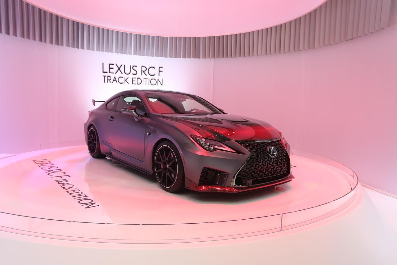 Lexus RC F Track Edition - Salone di Ginevra 2019