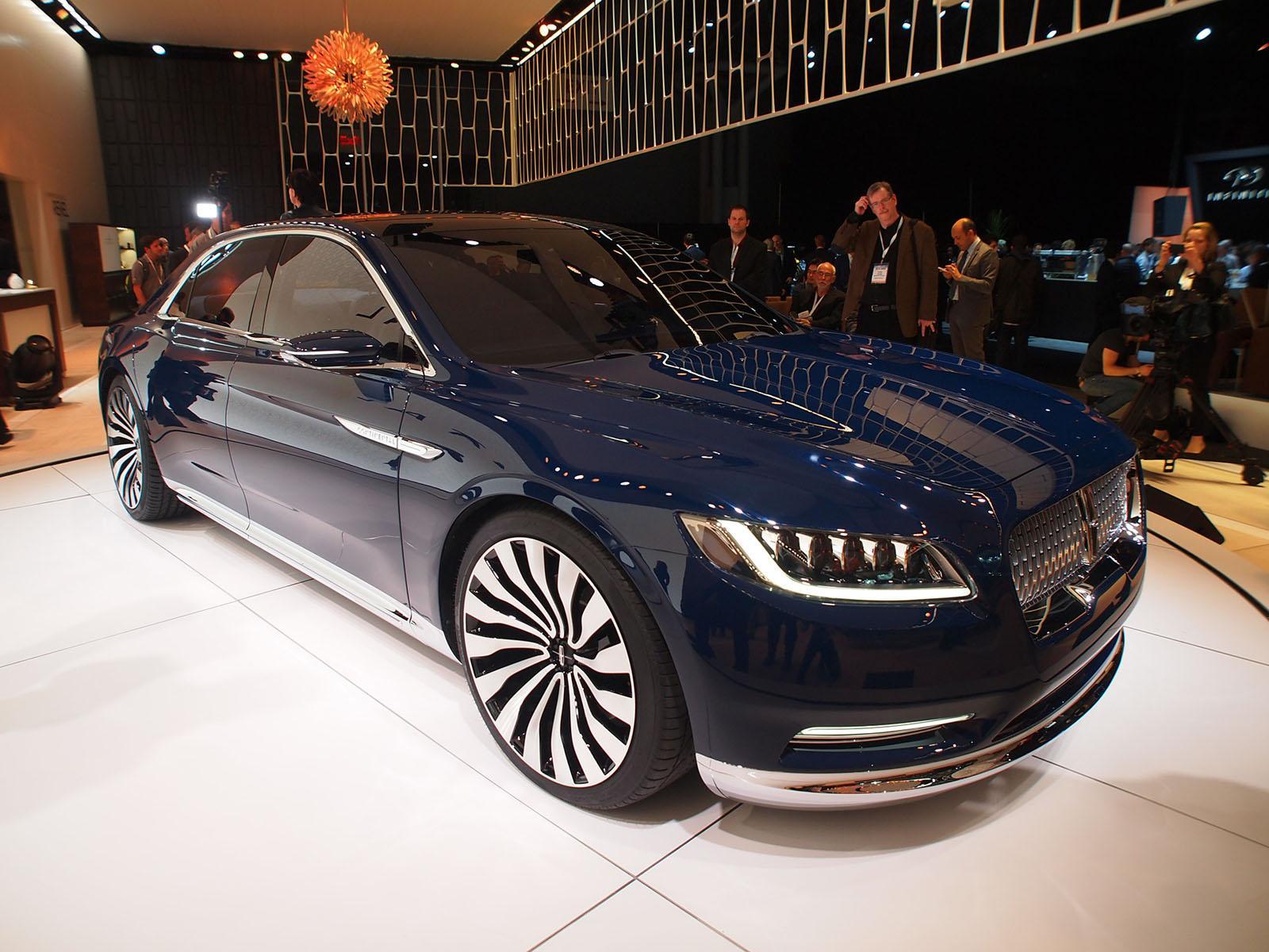 Lincoln Continental Concept - Salone di New York 2015