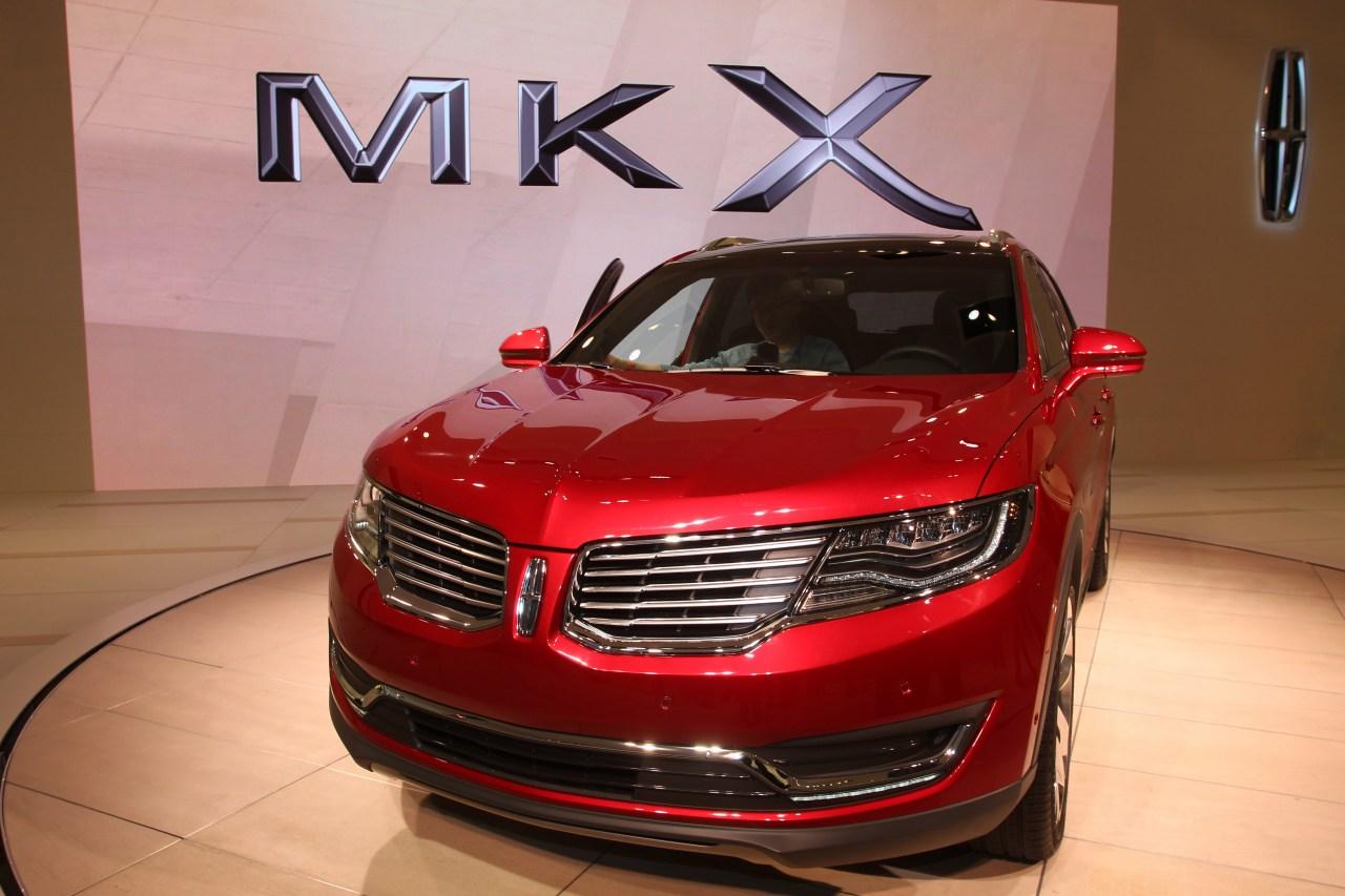 Lincoln MKX - Salone di Detroit 2015