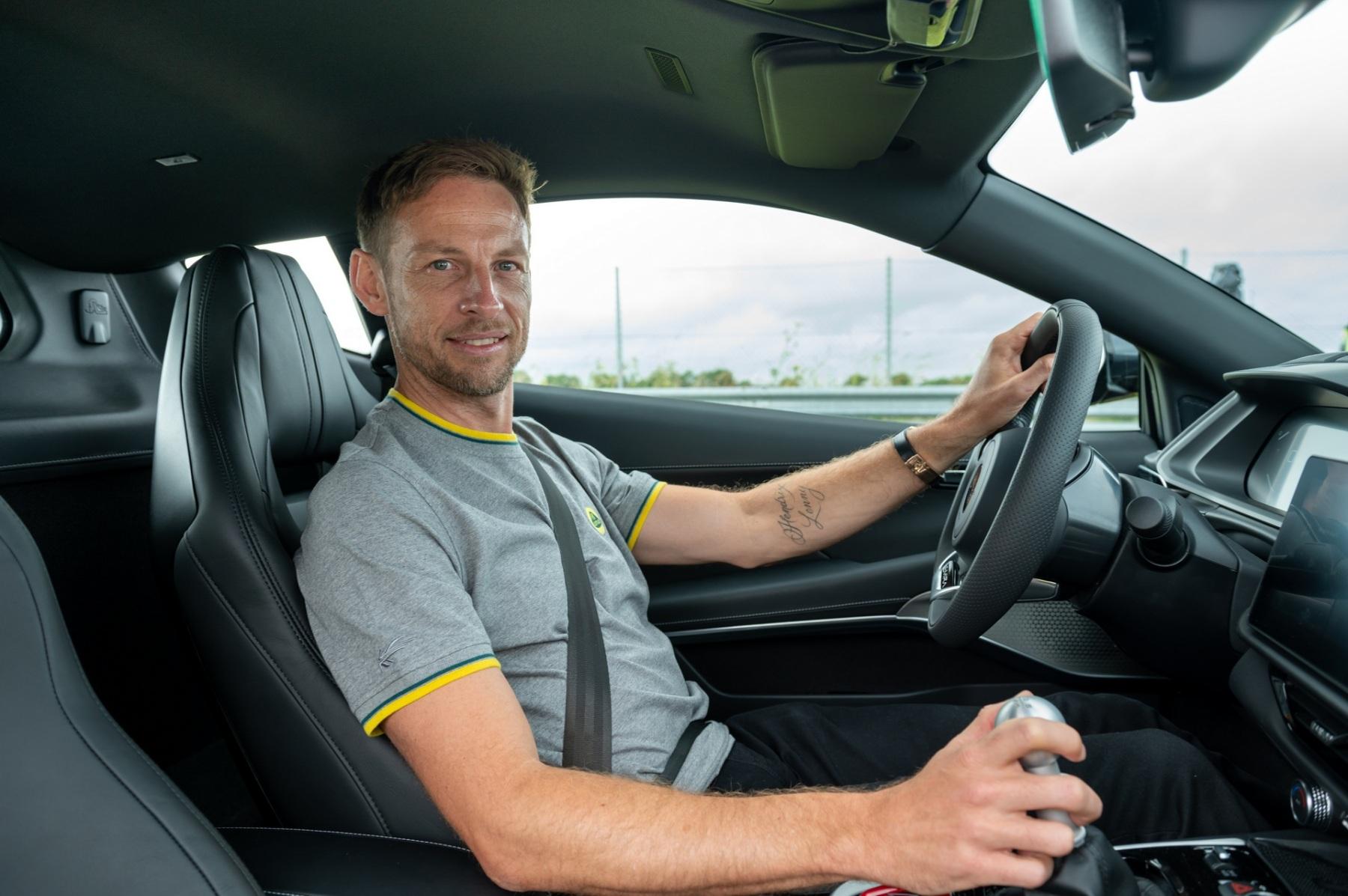 Lotus Emira - Test drive Jenson Button