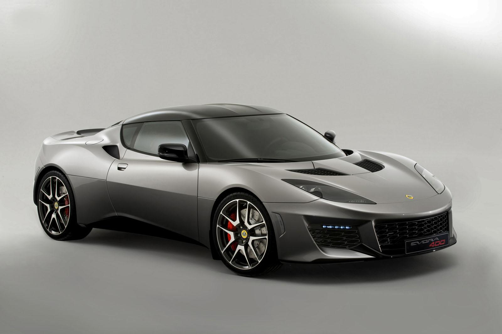 Lotus Evora 400 Blue & Orange Edition