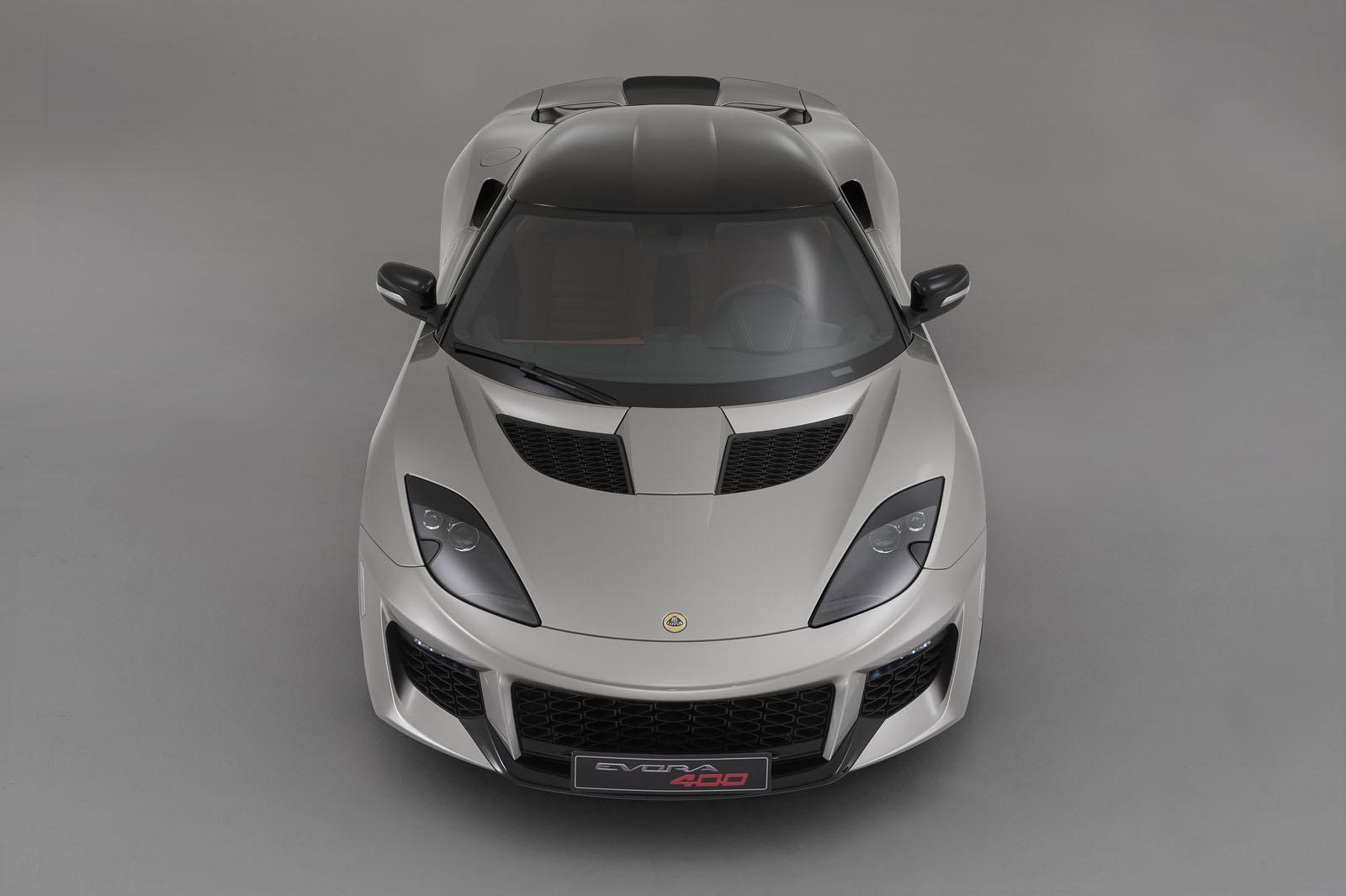 Lotus Evora 400 Blue & Orange Edition