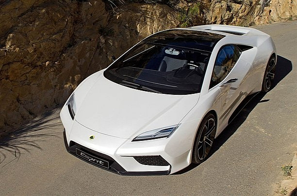 Lotus supercar