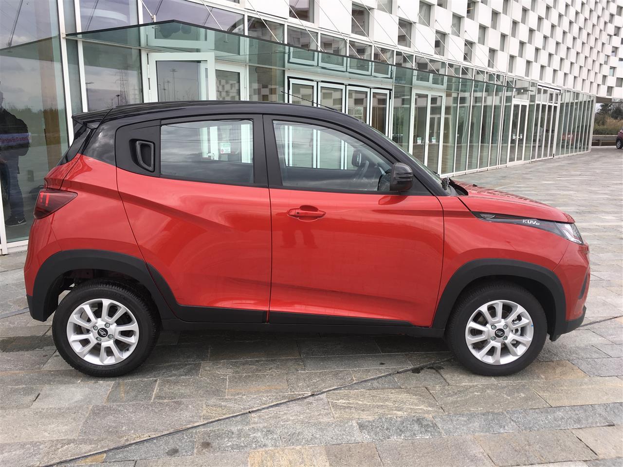 Mahindra KUV100 test drive Lainate