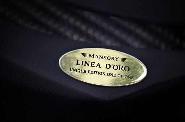Mansory Bugatti Veyron Linea Vincerò d\'Oro