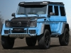 Mansory Mercedes G500 4x4 Bright Blue