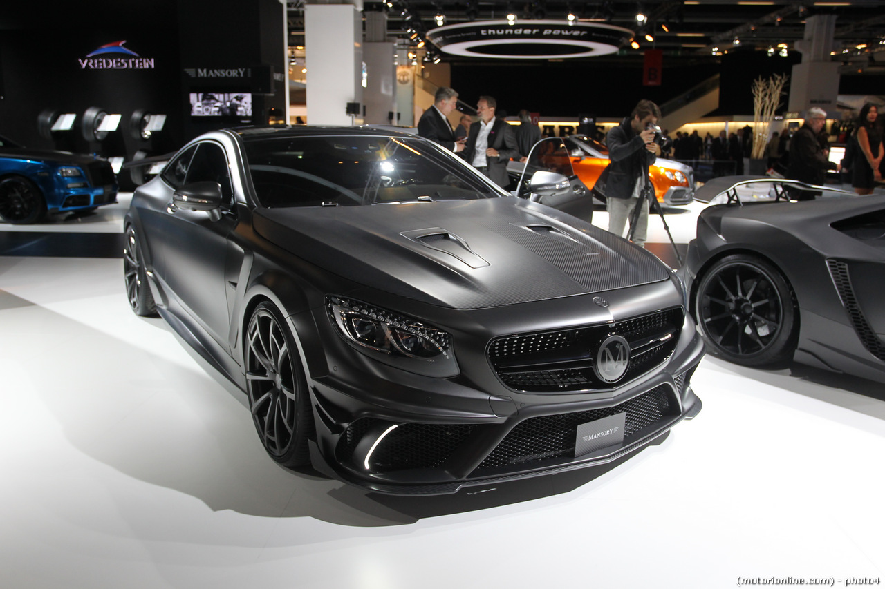 Mansory S63 Coupe Black Edition - Salone di Francoforte 2015