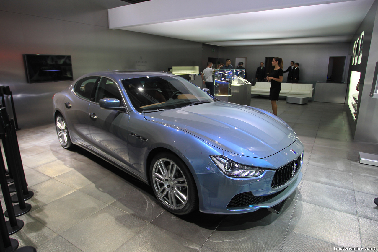 Maserati Ghibli Ermenegildo Zegna Edition - Salone di Parigi 2014 - 8/8