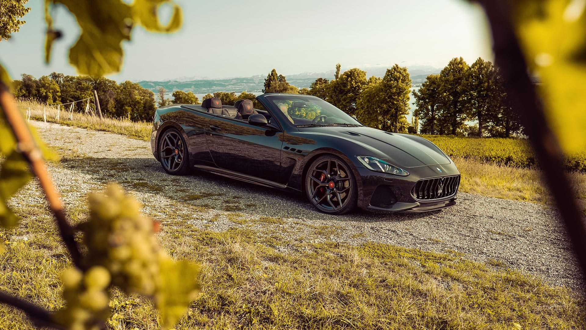 Maserati GranCabrio by Pogea Racing