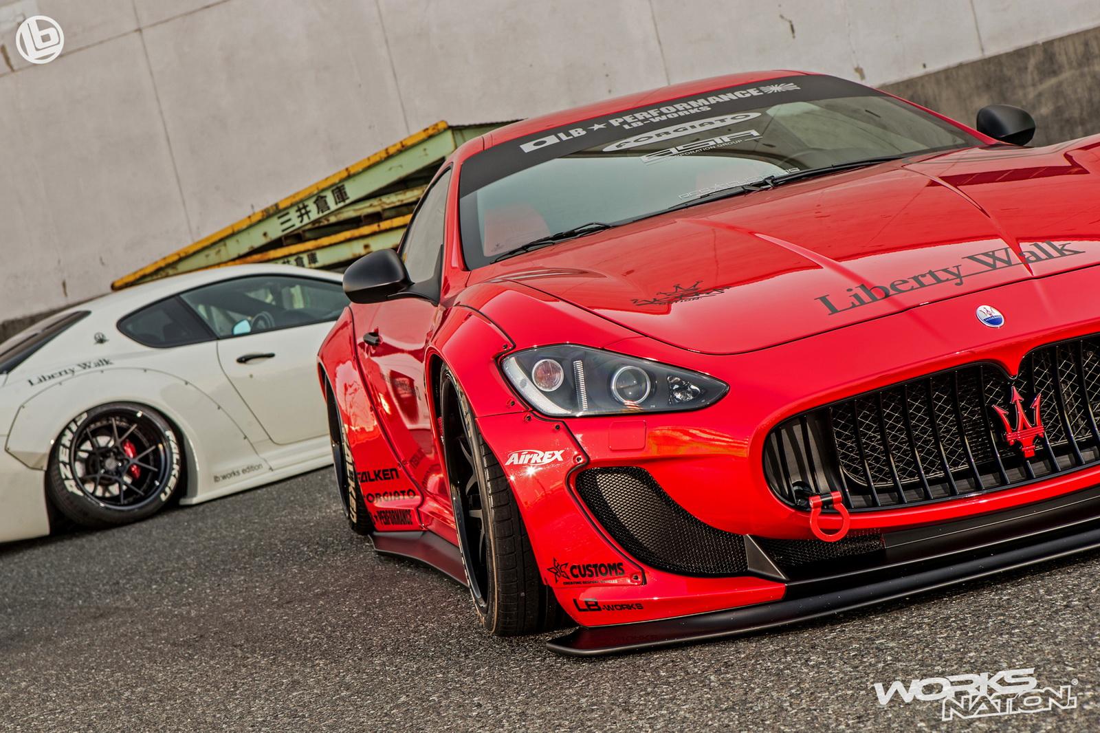 Maserati GranTurismo (Liberty Walk)