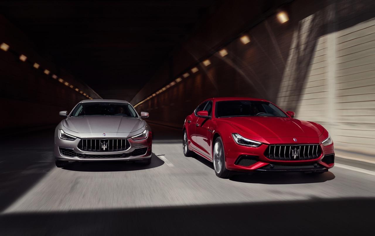 Maserati Levante, Ghibli e Quattroporte MY 2019