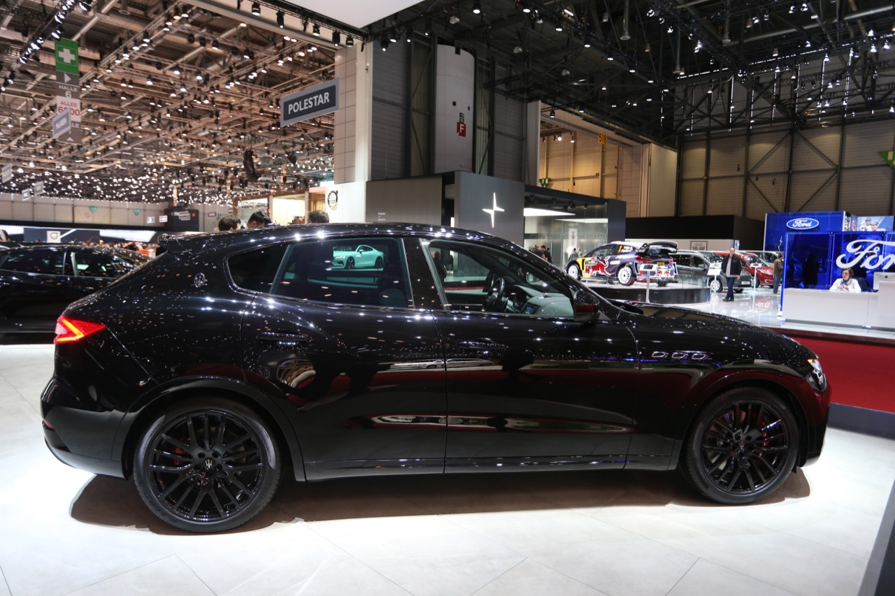 Maserati Levante Nerissimo - Salone di Ginevra 2018