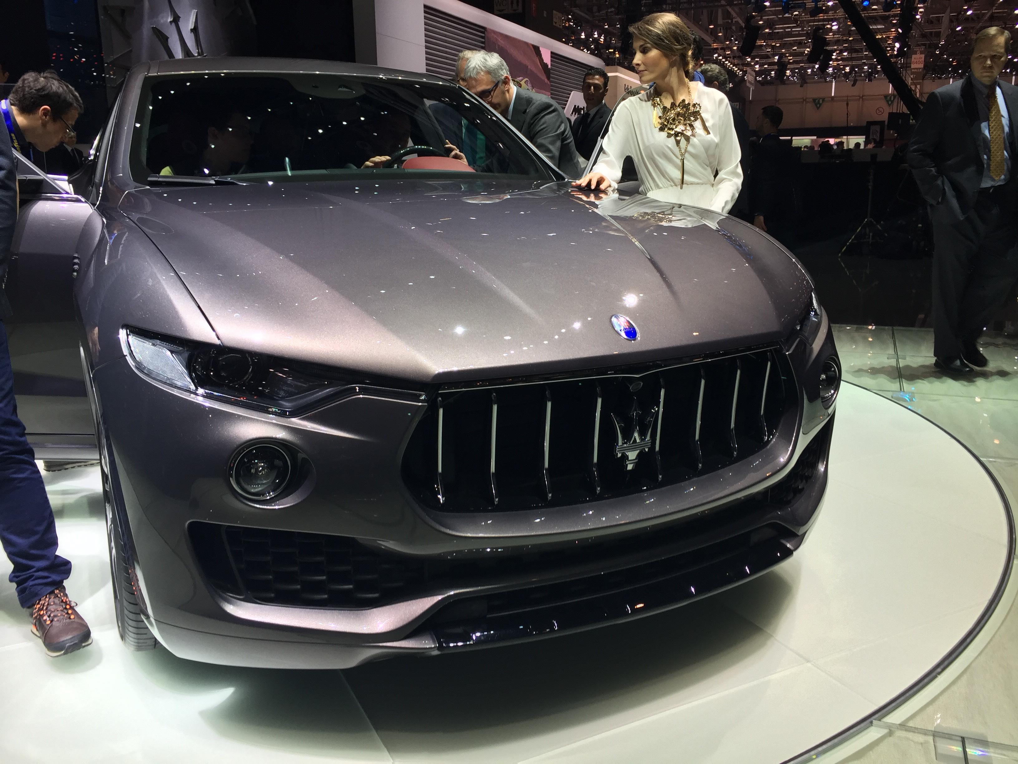 Maserati Levante - Salone di Ginevra 2016