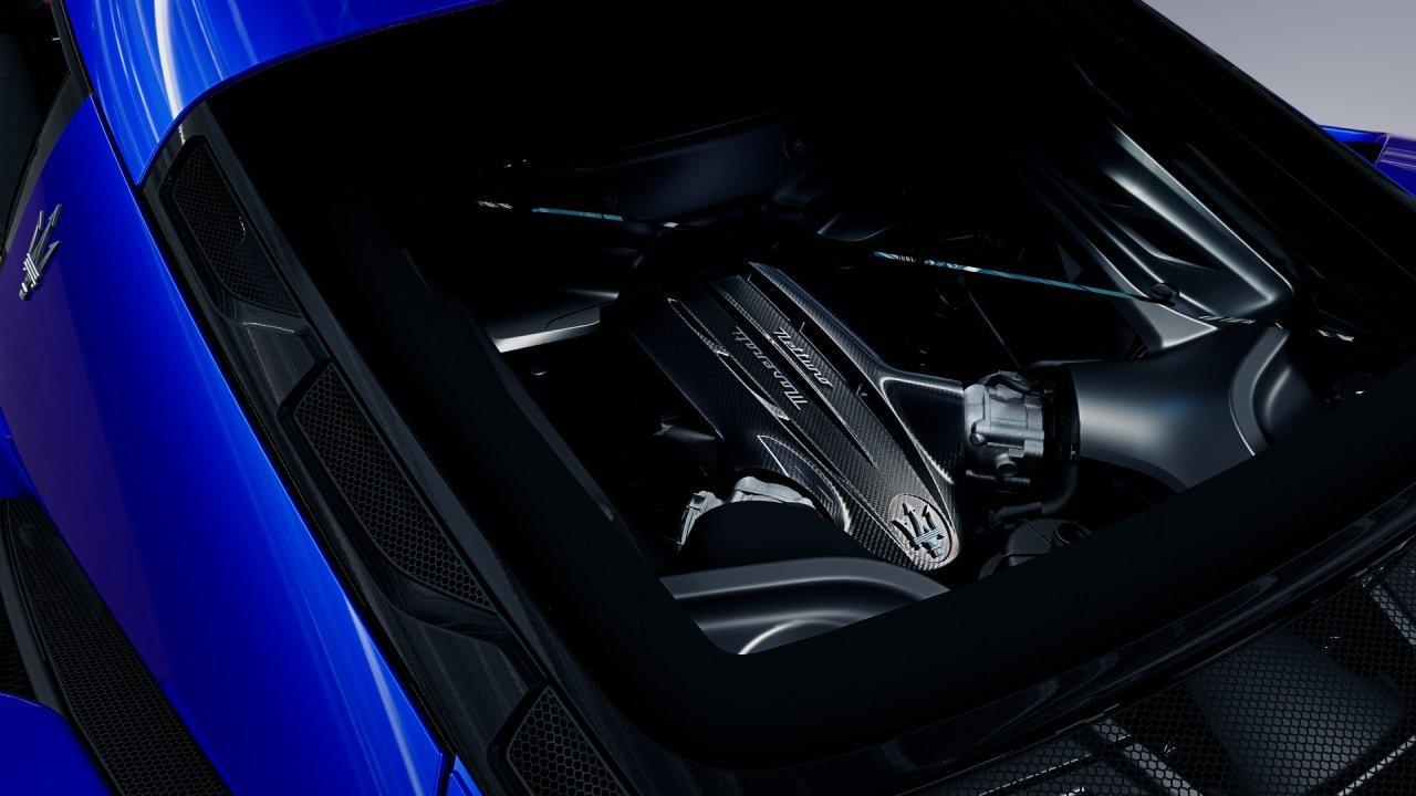 Maserati MC20 Blu Infinito