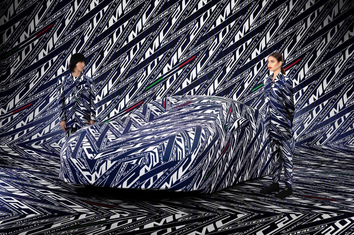 Maserati MC20 - Car Cover camouflage
