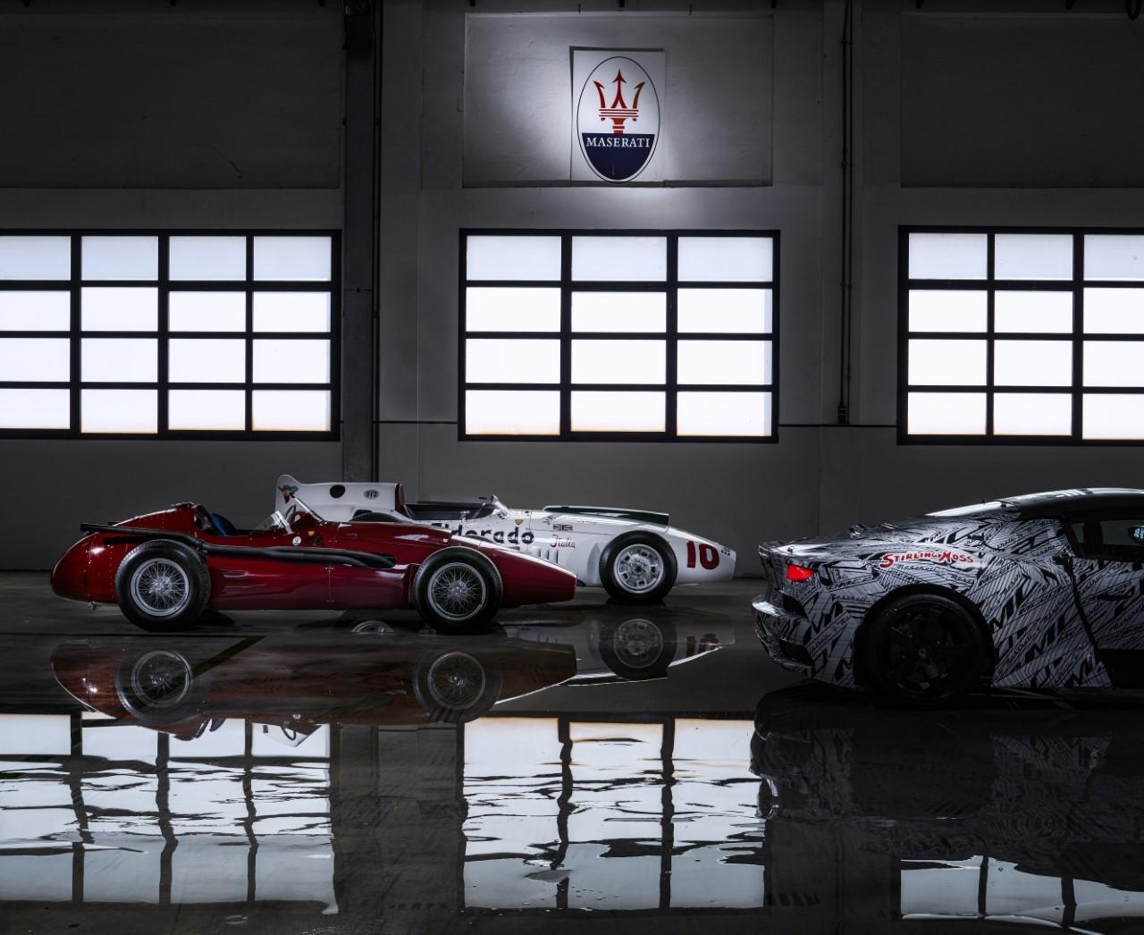 Maserati MC20 - Il prototipo dedicato a Sterling Moss