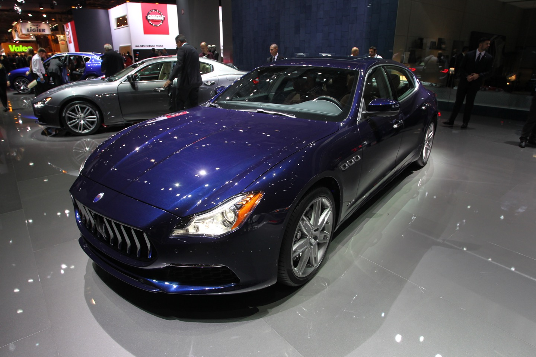 Maserati Quattroporte MY2017 - Salone di Parigi 2016