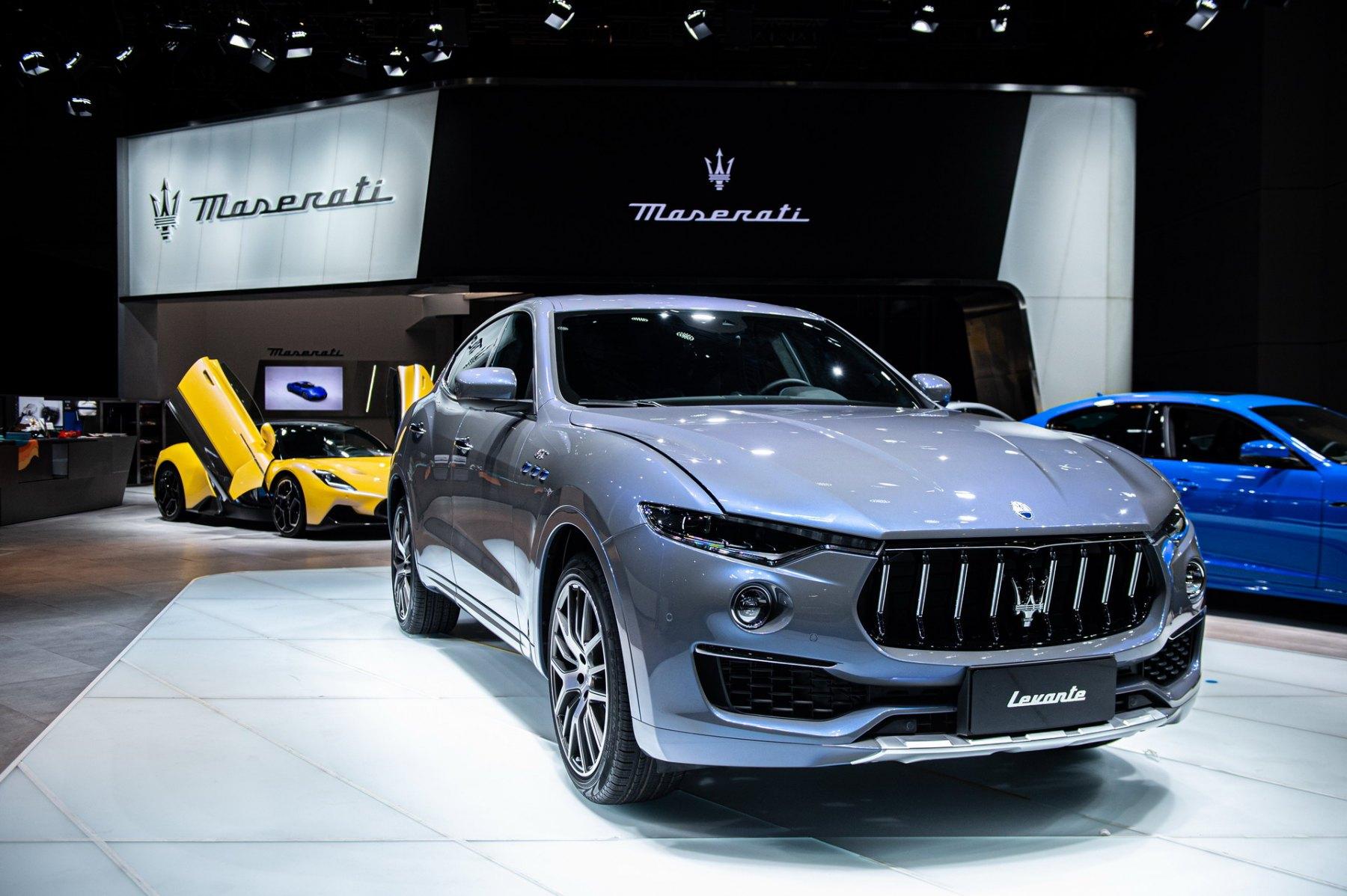 Maserati - Salone di Shanghai 2021
