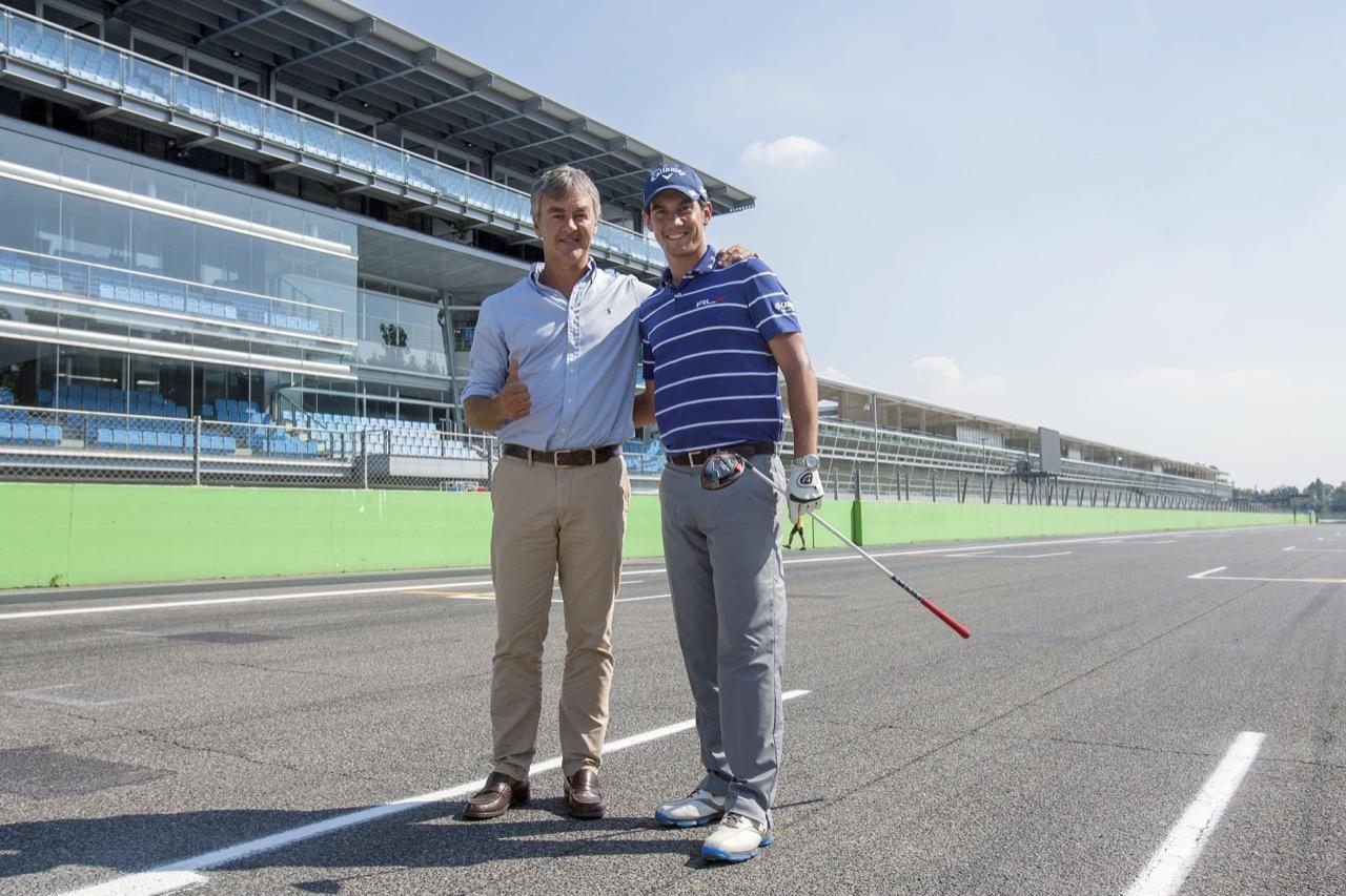 Matteo Manassero all'Autodromo Nazionale di Monza