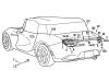 Mazda - Brevetti alettone retrattile