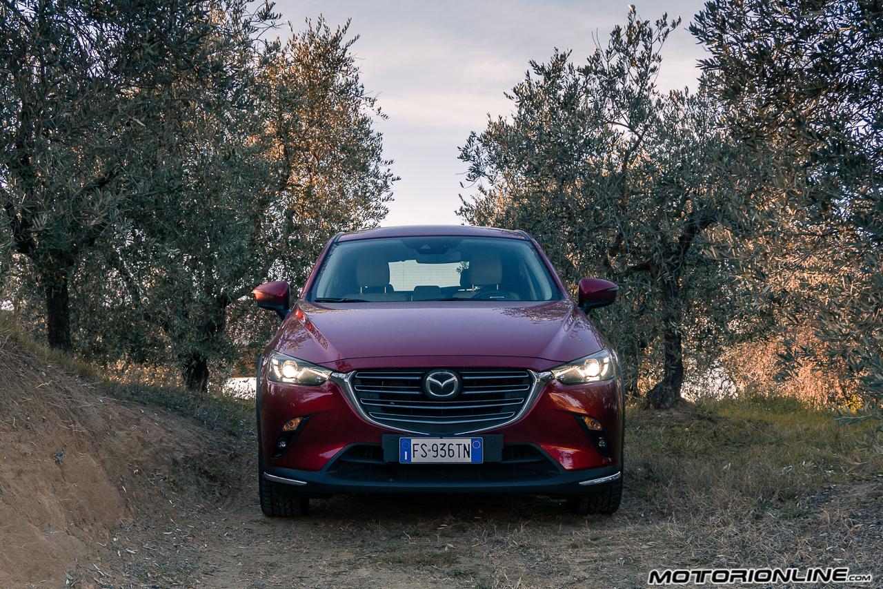 Mazda CX-3 MY 2018 - Prova su Strada