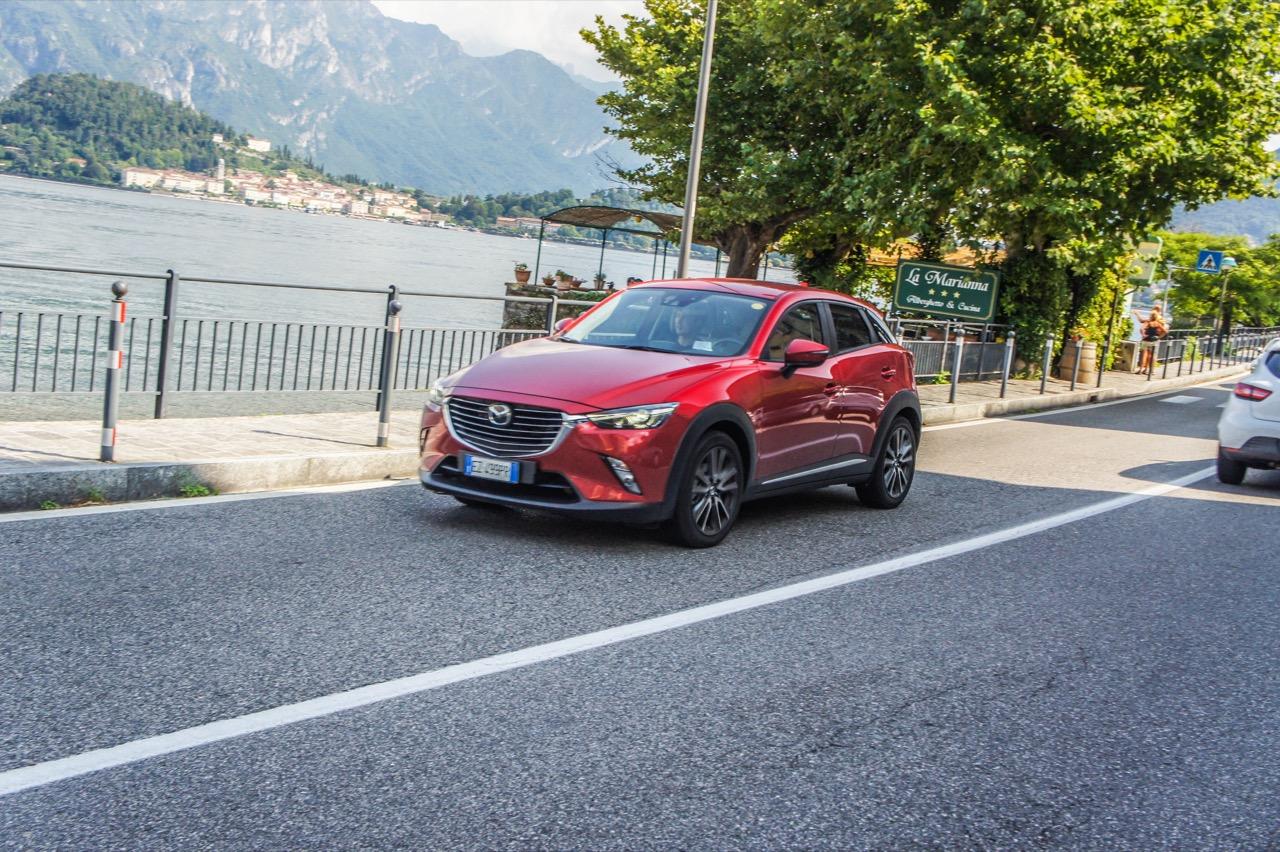 Mazda CX-3 - Prova su Strada