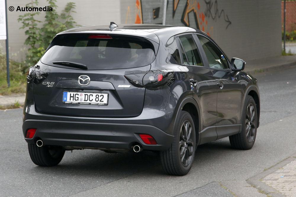 Foto della Galleria: Mazda CX-5 restyling - foto spia (settembre 2014