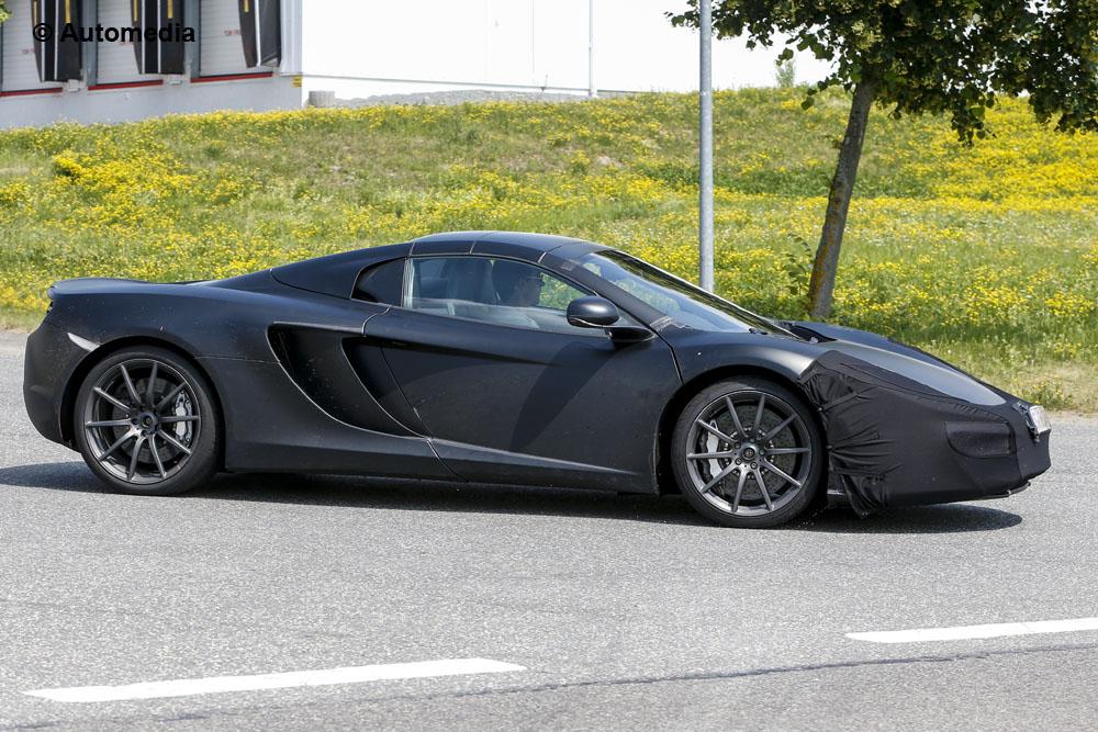 McLaren 12C 2014 - Foto spia 12-07-2013
