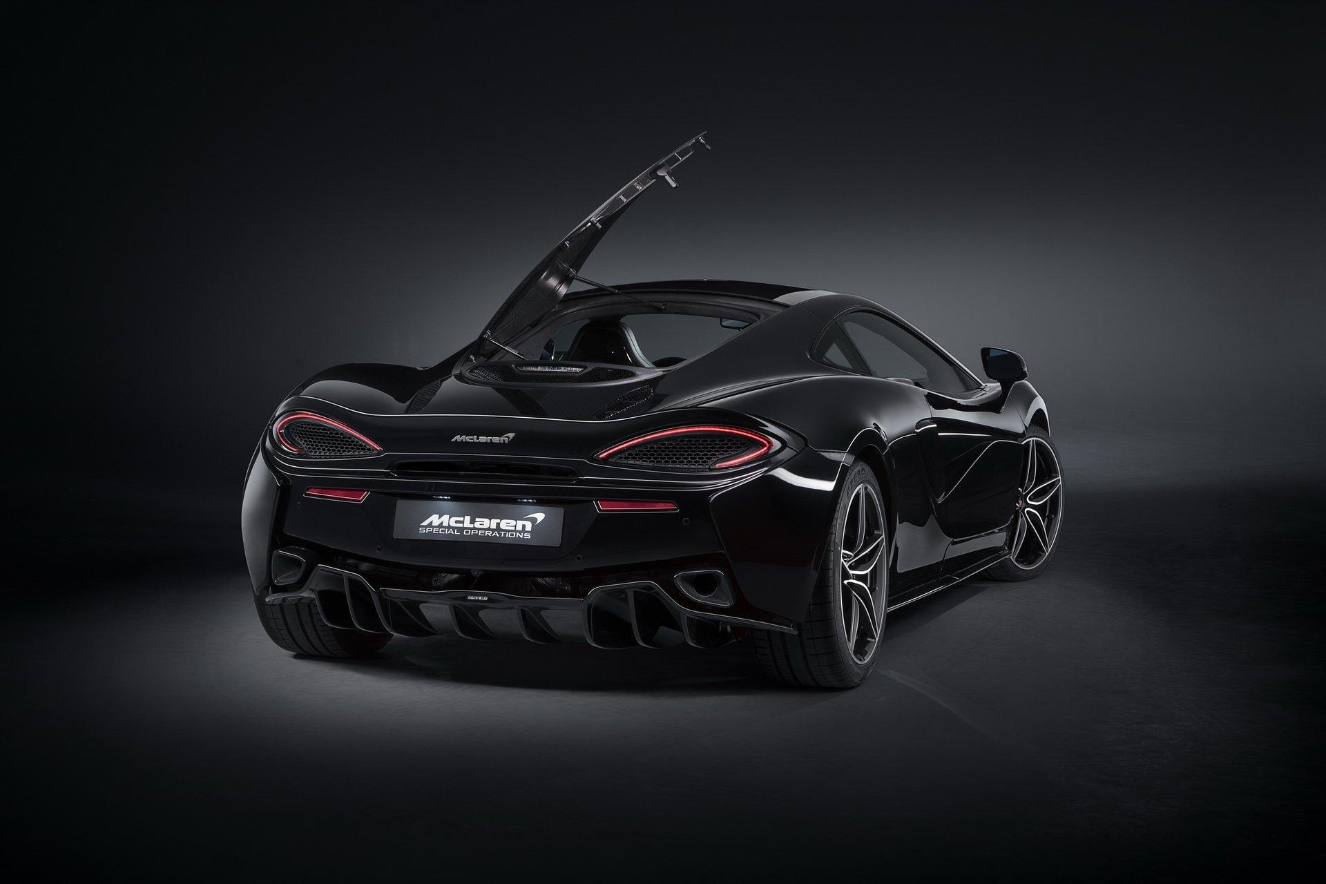 McLaren 570GT Black Collection e 720S Velocity