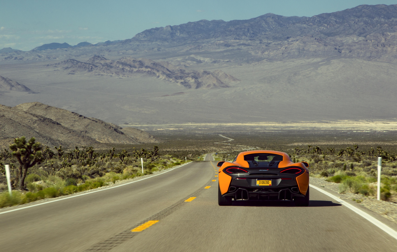 McLaren 570S Coupe - Pre produzione