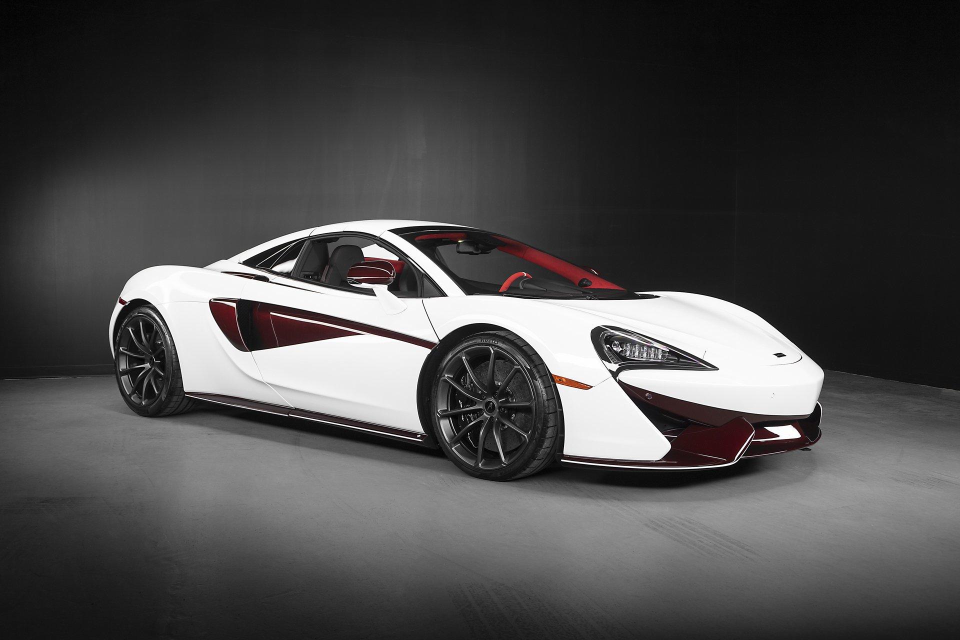 McLaren 570S Spider Canada Commission