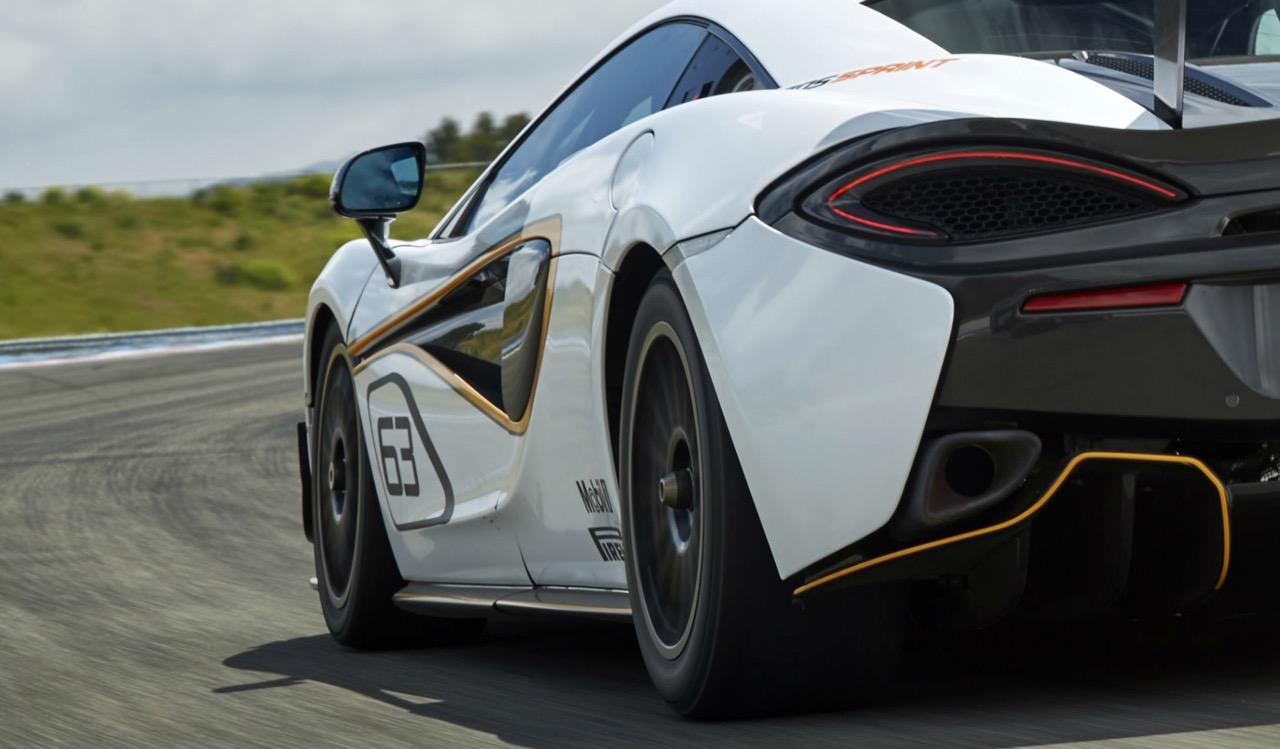 McLaren 570S Sprint - anteprima