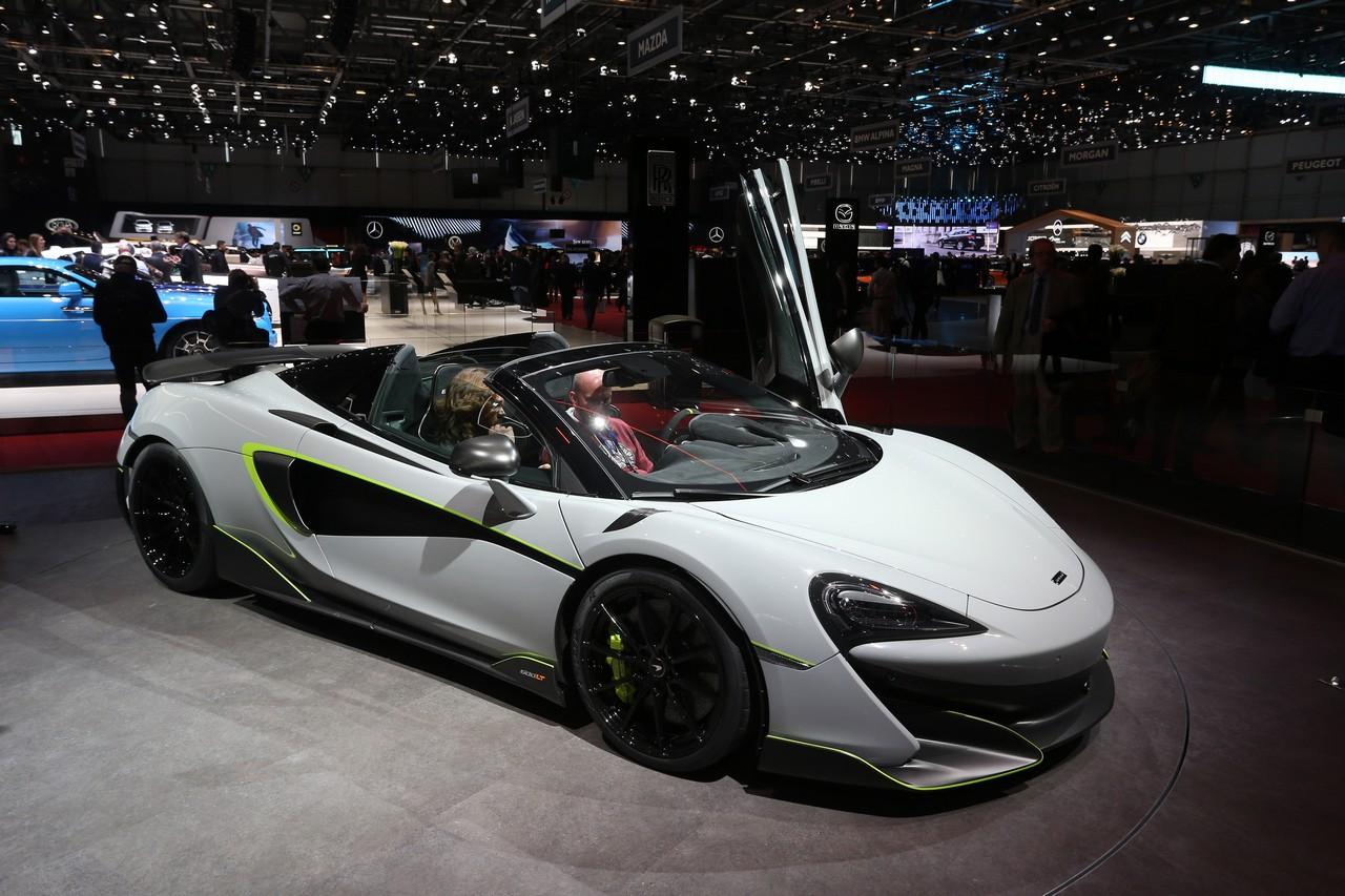 McLaren 600LT Spider MSO - Salone di Ginevra 2019