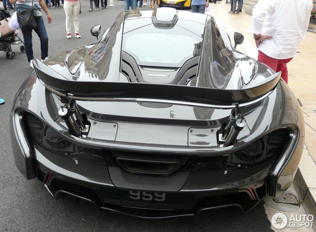 McLaren P1 di Jenson Button
