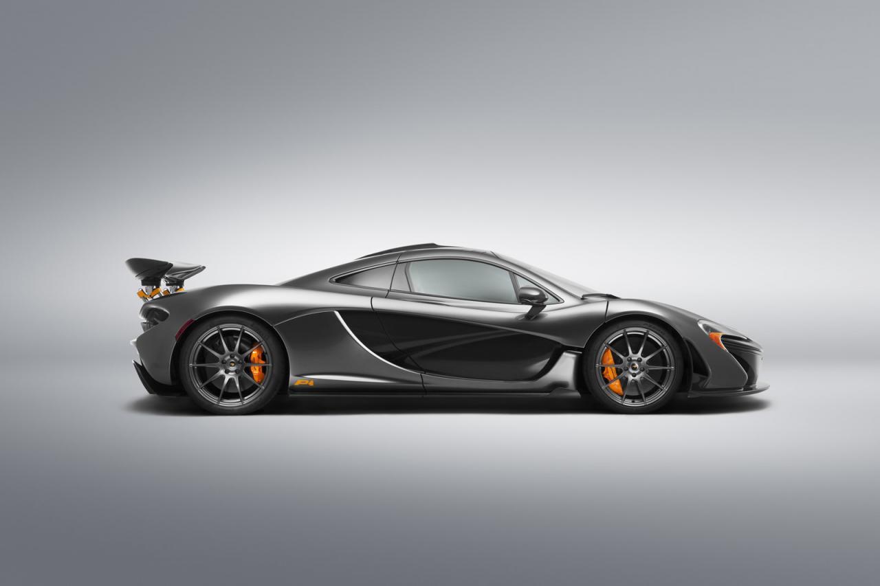 McLaren P1 e 650S Spider - Pebble Beach 2014