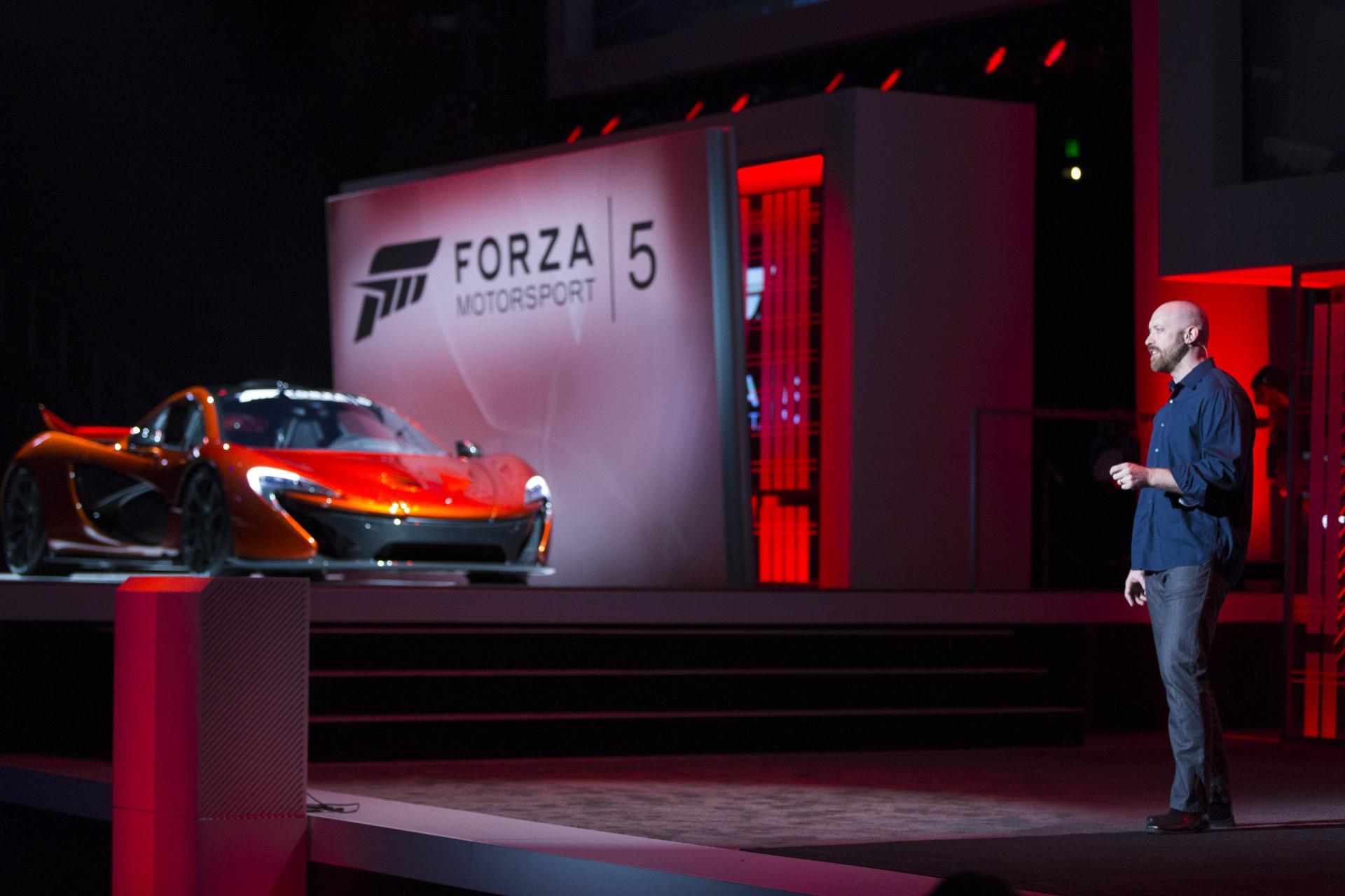 McLaren P1 - Forza Motorsport 5