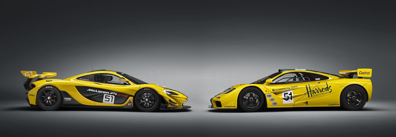 McLaren P1 GTR - Versione di produzione