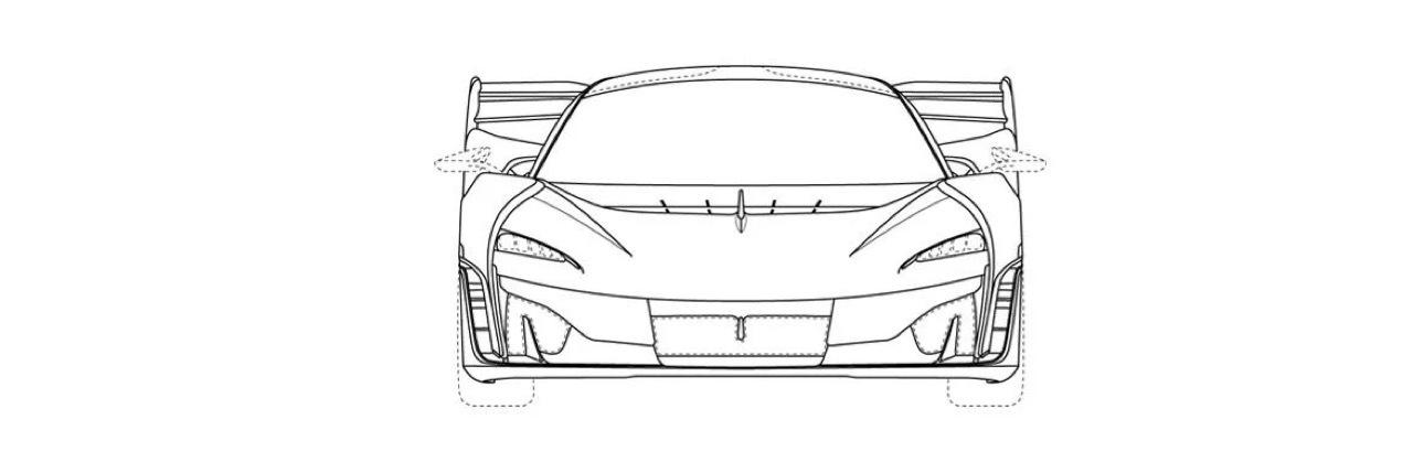 McLaren Sabre - BC-03 Rendering