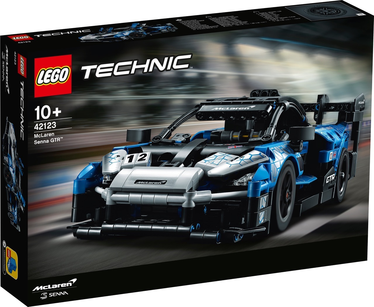 McLaren Senna GTR - Lego