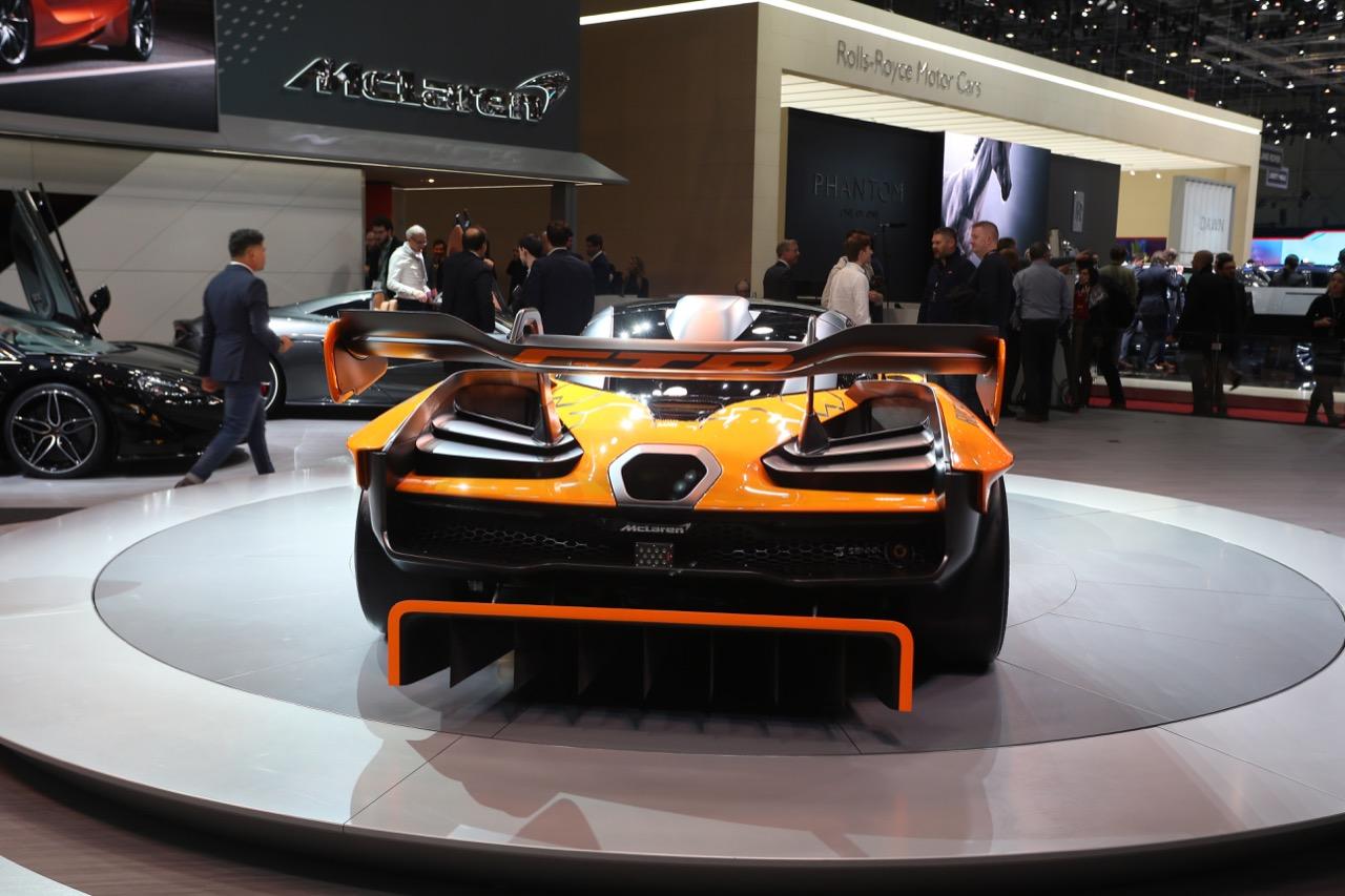 McLaren Senna GTR - Salone di Ginevra 2018