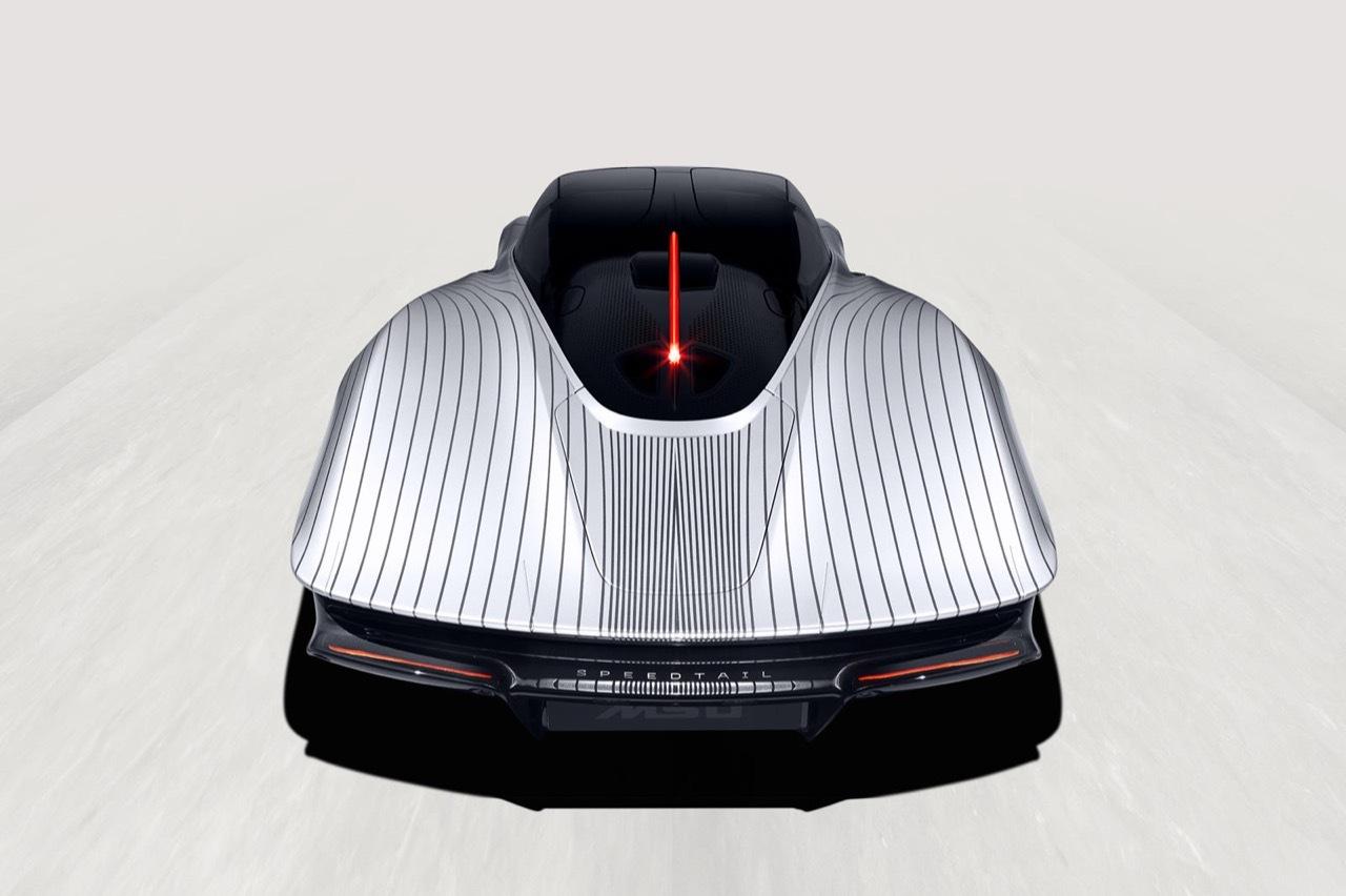 McLaren Speedtail Albert - Foto Ufficiali