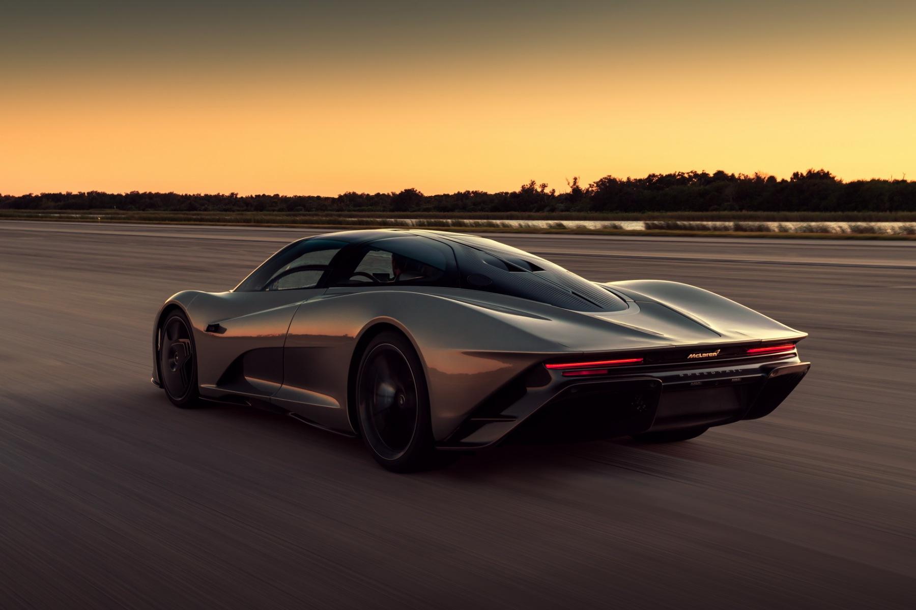 McLaren Speedtail - Test