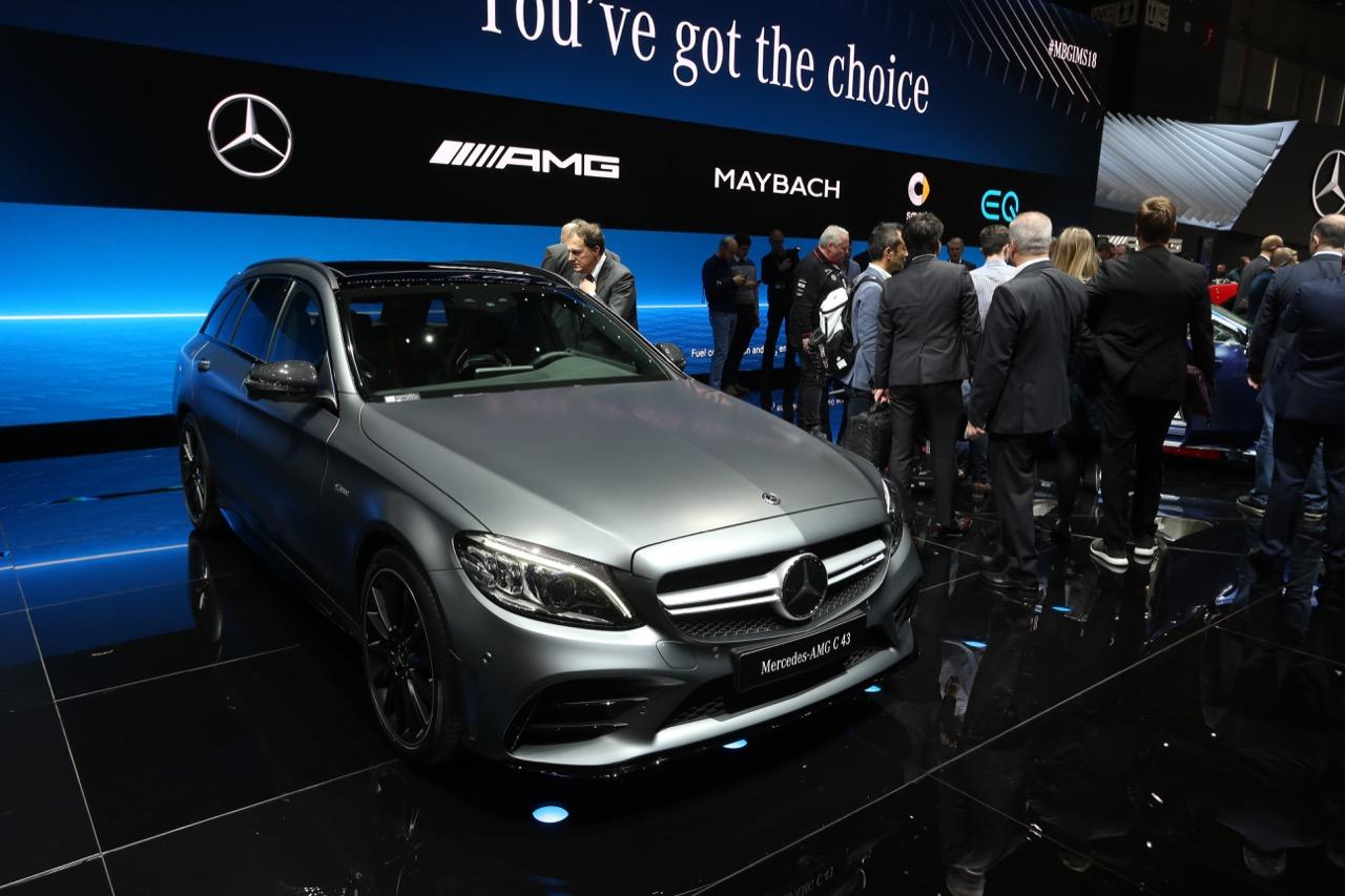 Mercedes AMG C43 - Salone di Ginevra 2018