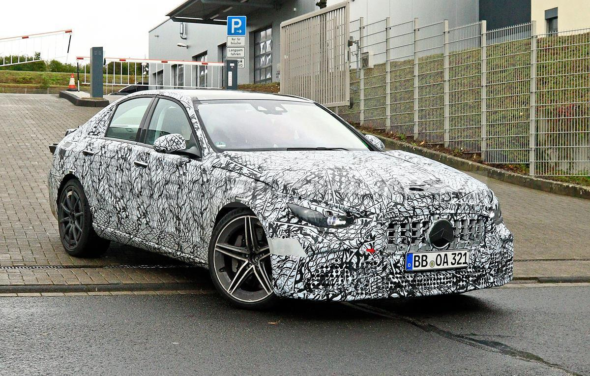 Mercedes-AMG C63 2021 - Foto spia 13-10-2020