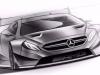 Mercedes-AMG C 63 Coupe DTM 2016 - disegni del nuovo modello da competizione