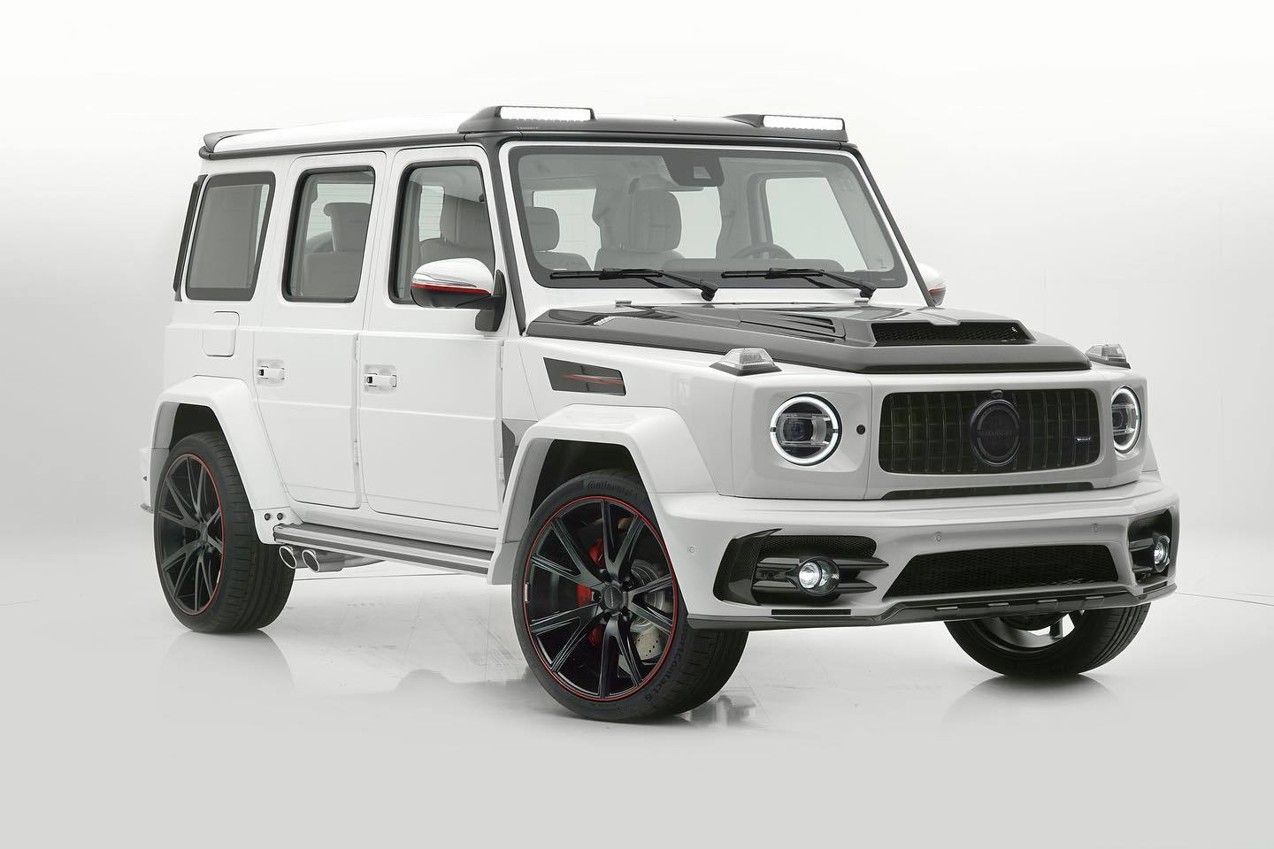 Mercedes-AMG G63 - Tuning Mansory