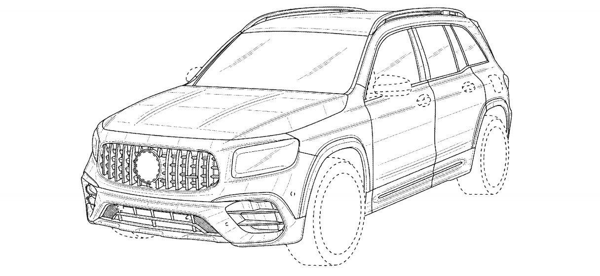 Mercedes-AMG GLB 45 2021 - Brevetto