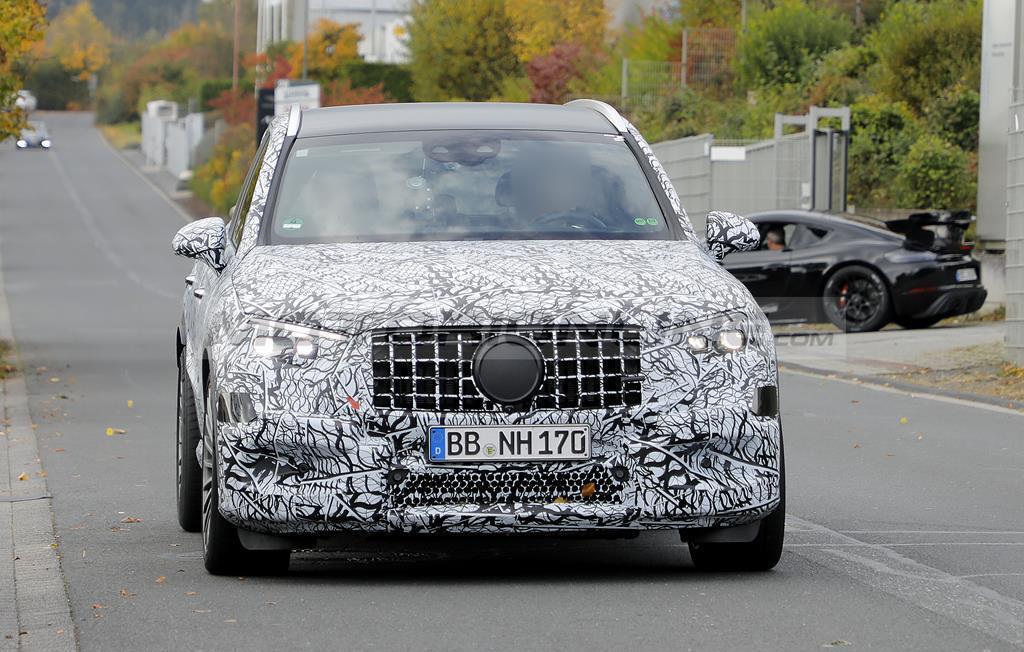 Mercedes-AMG GLC 43 e GLC 63 - Foto spia 21-10-2021